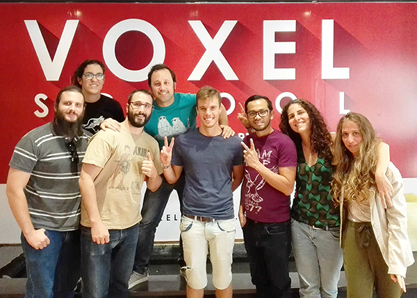 Secret 6 partners with Voxel School