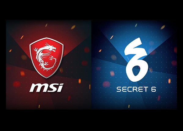 MSI and Secret 6 Partnership for ESGS