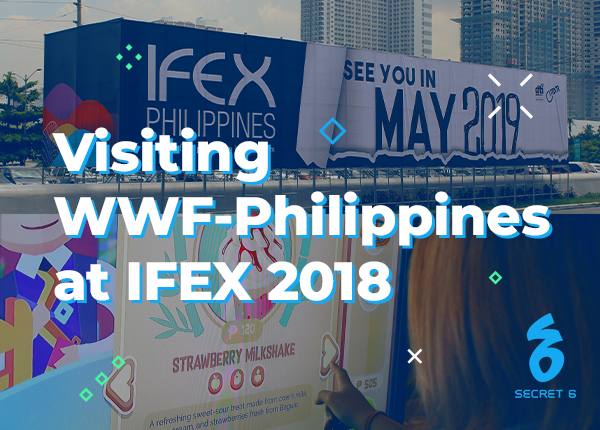 Visiting WWF-Philippines at IFEX 2018