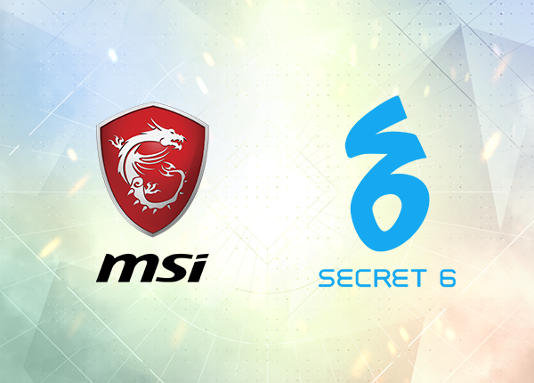 ESGS 2018 Partnership: Secret 6 and MSI