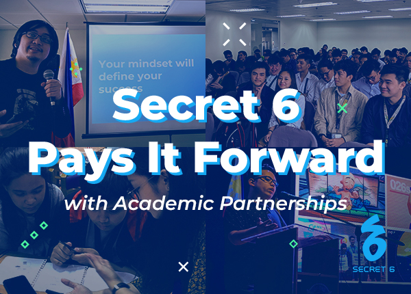 Secret 6 Pays It Forward with Academic Partnerships