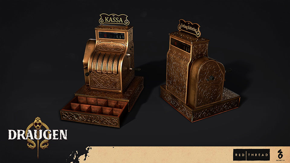 Draugen by Red Thread Games - Cash Register