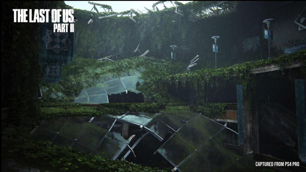 Environment in The Last of Us Part II