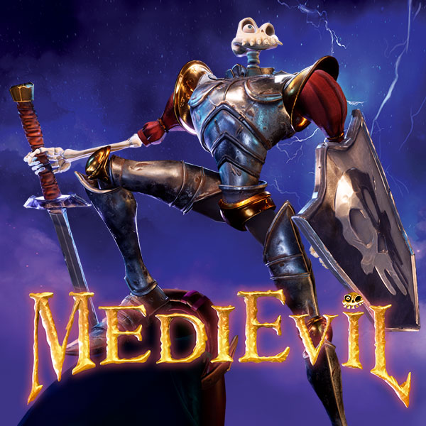 MediEvil Remaster for the PlayStation 4 (PS4)